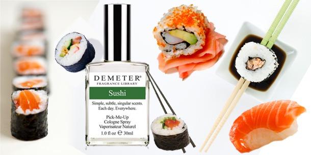 Na endlich: Das erste Sushi Parfum!