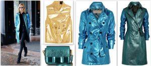 Fashion meets Metallic !