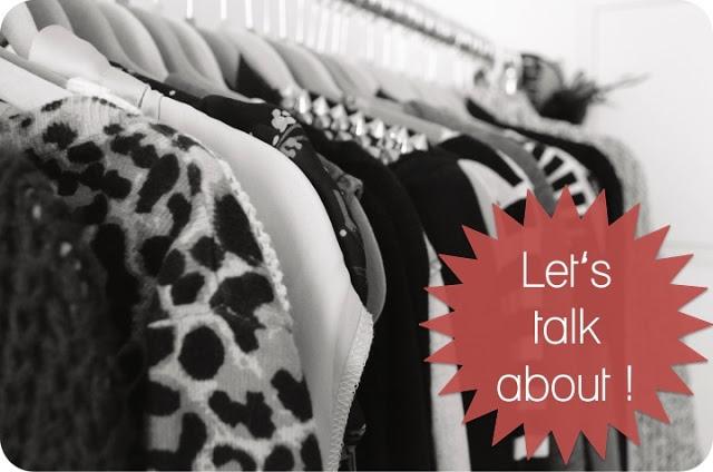 Let's Talk About: Kleidergrößen