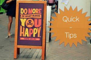 Quick Tips: Part V