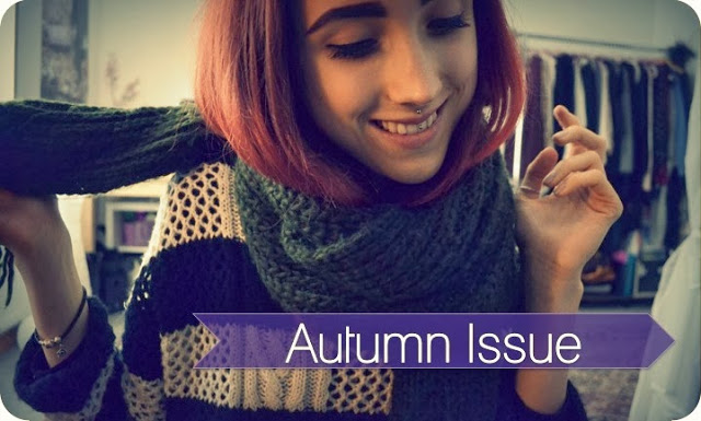 Welcome to: Autumn Issue