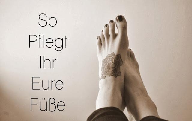 So pflegt ihr eure Füße schön