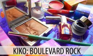 "KIKO Limited Edition: ""Boulevard Rock"""