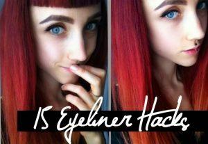15 Eyeliner Tricks, die jede Frau kennen sollte!
