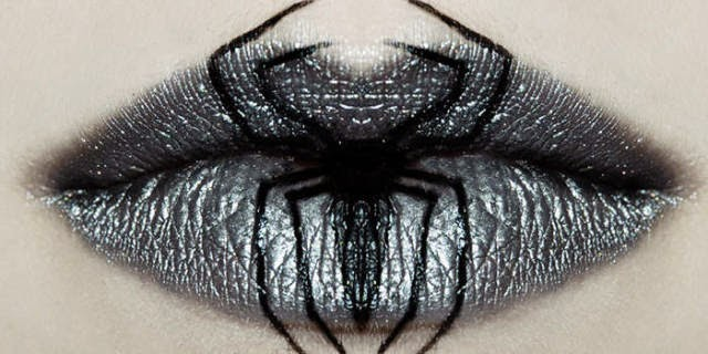 Ideas about: Creepy Halloween Lips