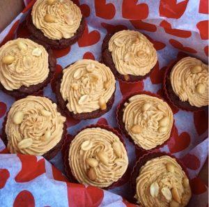 Vegan Salty-Chocolate-Peanutbutter Cupcakes