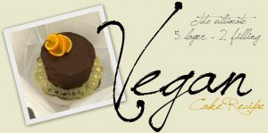 Vegan Cake Recipe!
