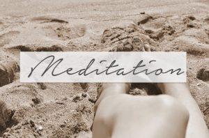 Meditation: Let's talk about